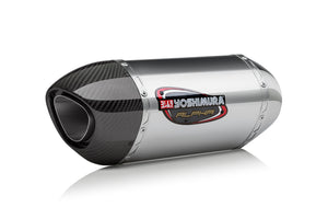 YZF-R1/M/S 15-19 ALPHA Stainless Slip-On Exhaust, w/ Stainless Muffler