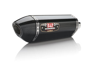 HAYABUSA 08-20 R-77 Stainless Slip-On Exhaust, w/ Carbon Fiber Mufflers