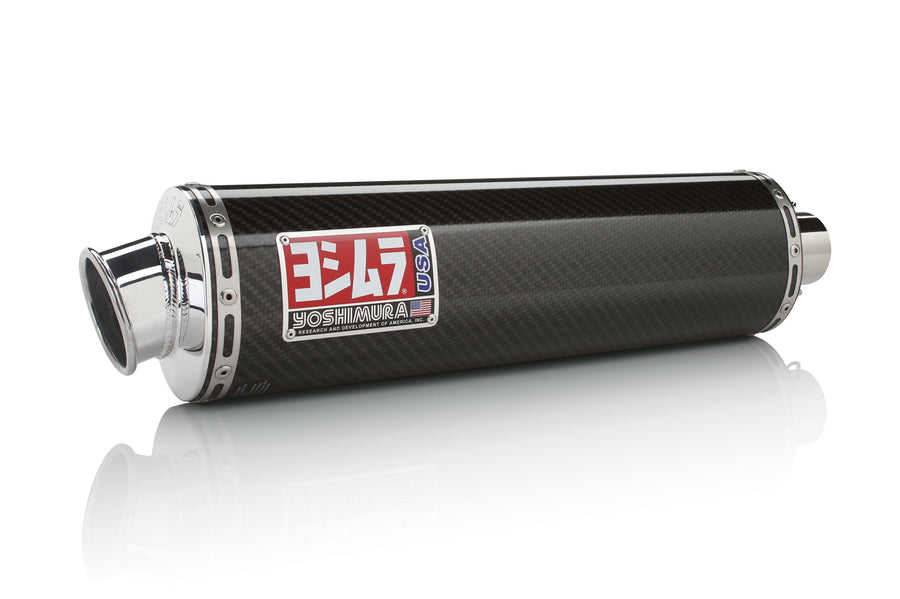 CBR600F4i 01-06 RS-3 Stainless Slip-On Exhaust, w/ Carbon Fiber Muffler