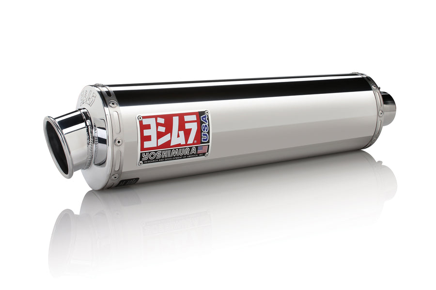 R1200GS 10-12 RS-3 Stainless Slip-On Exhaust, w/ Stainless Muffler