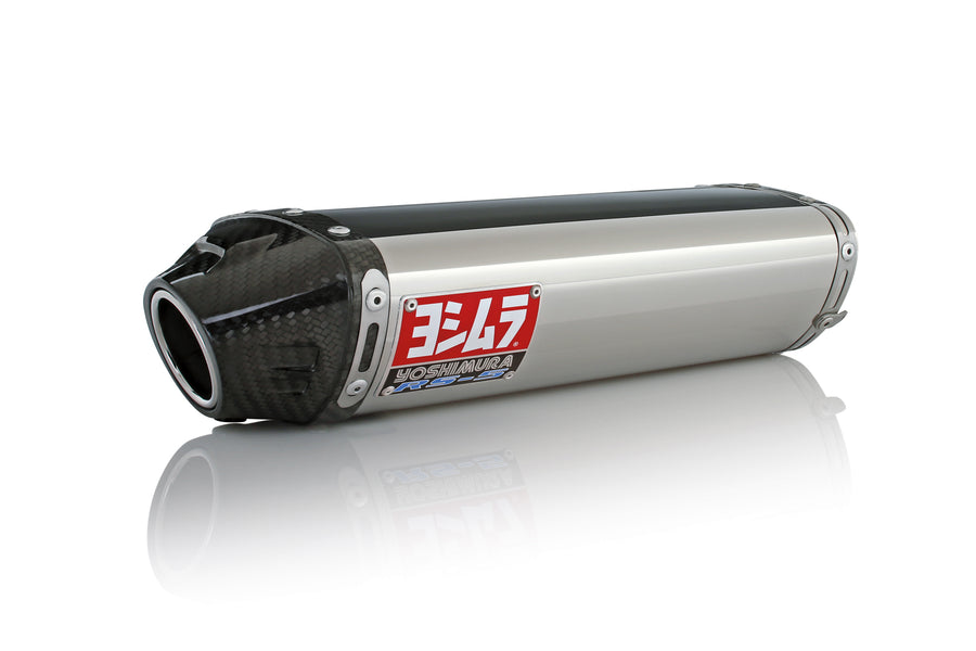 ZX-6R/RR 07-08 RS-5 Stainless Slip-On Exhaust, w/ Stainless Muffler