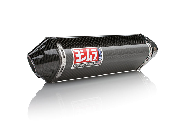 YZF-R6V 06-20 TRC Stainless Slip-On Exhaust, w/ Carbon Fiber Muffler