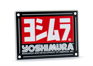 YOSHIMURA MUFFLER NAME BADGE RS-9