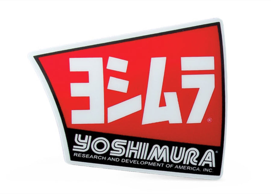 YOSHIMURA MUFFLER DECAL FOR END CAP RS4