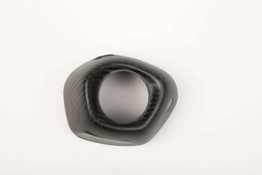 RS-12 Carbon Fiber End Cap Cover, RIght Side, Flat Finish