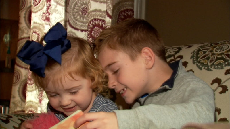 abc7: Crystal Lake siblings write, illustrate book to raise awareness of congenital heart defects
