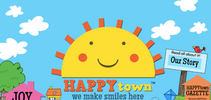 Welcome to Happy Town!  We make smiles here!