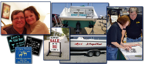 Appealing Signs - Custom, Novelty, Business Signs and Decals