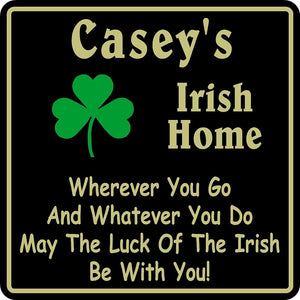 New Personalized Custom Name Irish Pub Bar Beer Home Decor Gift Plaque Sign #11