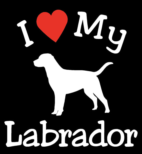 DOG LABRADOR PET CAR DECALS STICKERS