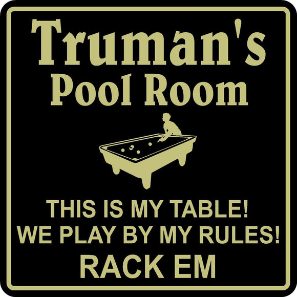 New Personalized Custom Name Pool Room Billiards Sign Bar Beer Pub Gift #4