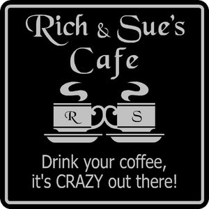New Personalized Name Sign Coffee Cafe Java Kitchen Restaurant Sign # 4