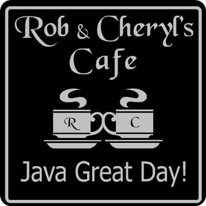 New Personalized Custom Name Coffee Cafe Java Kitchen Restaurant Sign # 1