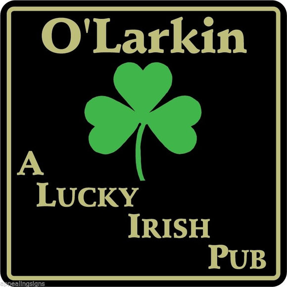 New Personalized Custom Name Irish Pub Bar Beer Home Decor Gift Plaque Sign #6
