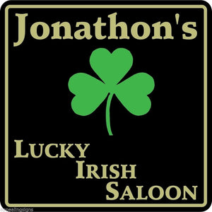 New Personalized Name Sign Irish Pub Bar Beer Home Decor Gift Plaque Sign #4