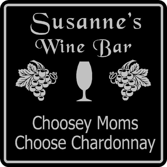 Wine Sign Bar Pub Gift Personalized Custom Wine Tasting Wall Decor Plaque #17
