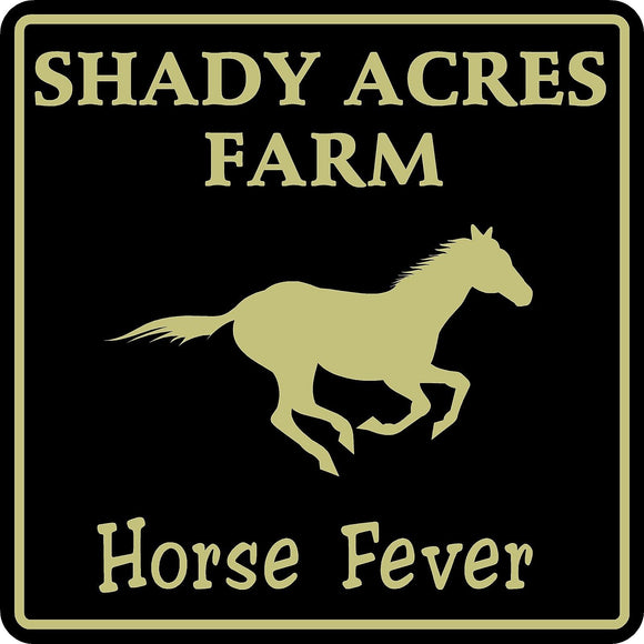 Personalized Custom Name Horse Stable Barn Ranch Farm Equestrian Sign #4