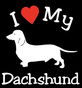 DOG DACHSHUND PET CAR DECALS STICKERS