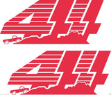 (2) Vinyl Vehicle Graphics Decals Speed Racing # 7 Custom Auto Truck  Asst Color