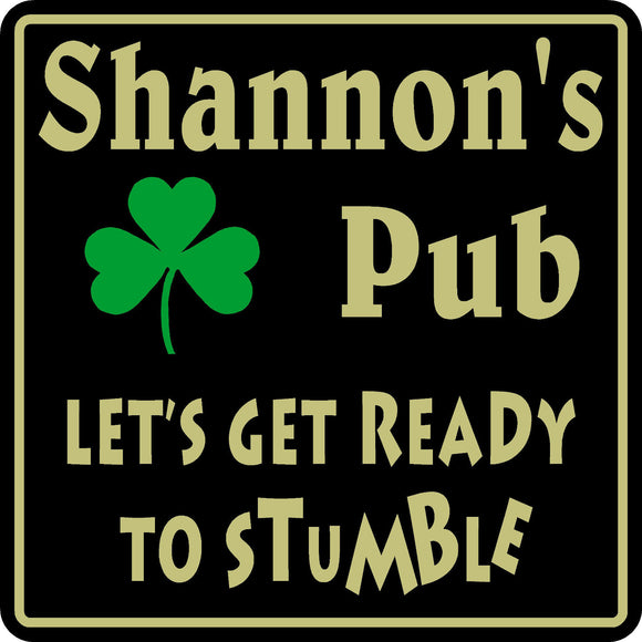 New Personalized Custom Name Irish Pub Bar Beer Home Decor Gift Plaque Sign #17