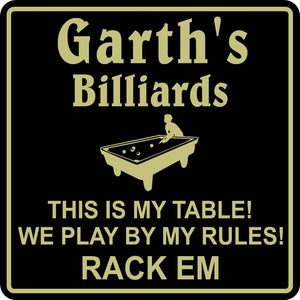 New Personalized Custom Name Pool Room Billiards Bar Beer Pub Gift Sign #5