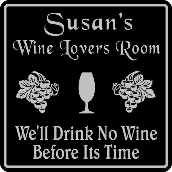 Personalized Custom Name Wine Room Tasting Bar Pub Wall Family Gift Sign #7