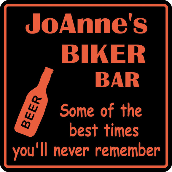 Personalized Custom Name Motorcycle Biker Bike Best Times Bar Beer Gift Sign #6