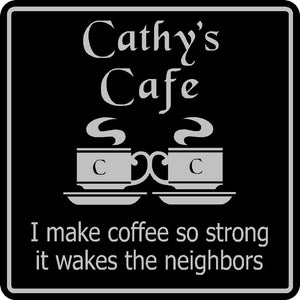 New Personalized Custom Name Coffee Cafe Java Kitchen Restaurant Sign # 5