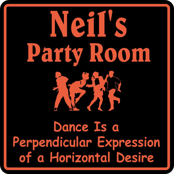 New Personalized Name Sign Birthday Party Room Beer Bar Gag Gift Sign #5