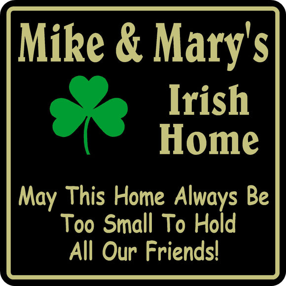 New Personalized Custom Name Irish Pub Bar Beer Home Decor Gift Plaque Sign #21
