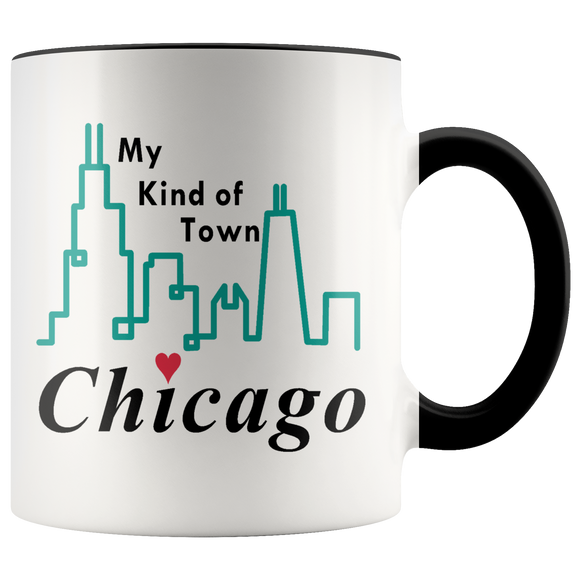 Chicago My Kind Of Town Coffee Mug Tea Hot Cocoa Cup