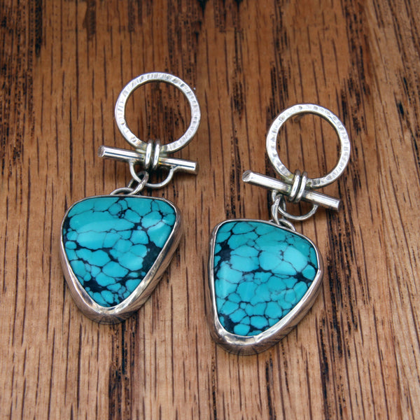 The Tantalizing Turquoise Earrings