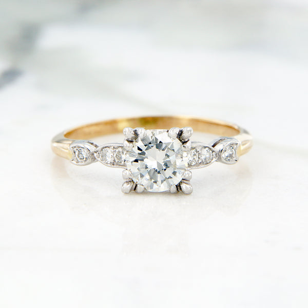 stunning bright diamond engagement ring estate