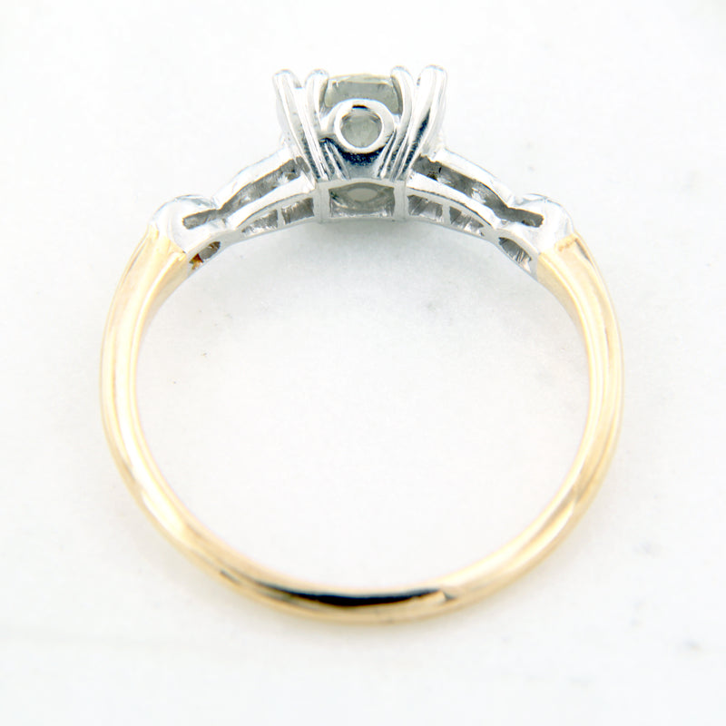 quality estate diamond engagement ring