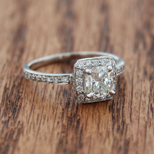 Cushion Diamond Ring