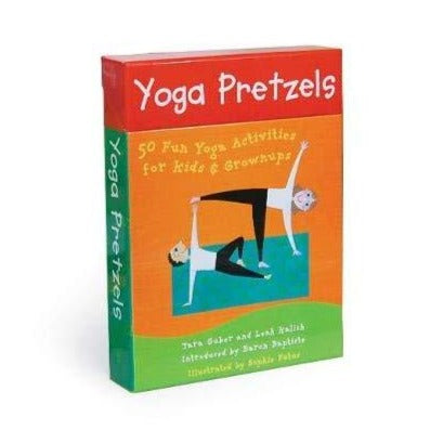 Yoga Pretzels Poses card deck