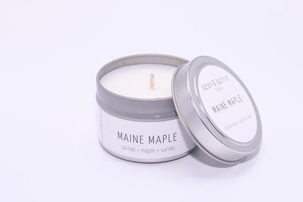Maine Maple Candle by Near & Native