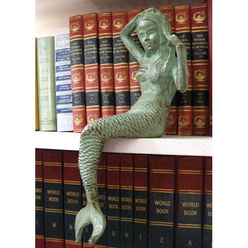 Cast Iron Mermaid