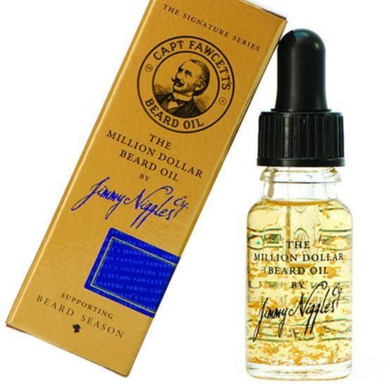 Captain Fawcett's Million Dollar Beard Oil (10ml/0.33oz)