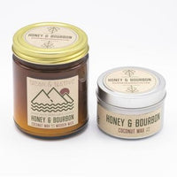 Honey & Bourbon Candle by Near & Native
