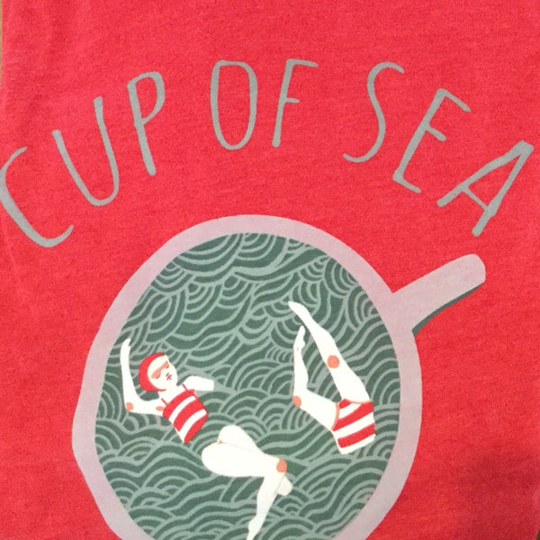 Cup of Sea - Red Youth Shirts