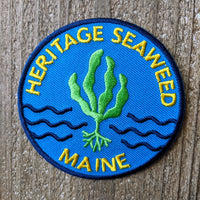 Heritage Seaweed Patch · Scout Badge Style