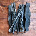 Kombu (Laminaria digitata) Whole-Leaf Dried Maine Seaweed · 2 oz · Atlantic Holdfast