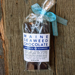Maine Seaweed Chocolate Bar Artisan Made for Heritage Seaweed 2oz