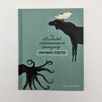 The Illustrated Compendium of Amazing Animal Facts Picture Book by Maja Säfström