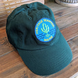 Hunter Green - Heritage Seaweed Adjustable Low-Profile Hat with Round Kelp Patch