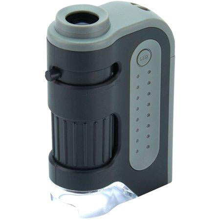 LED Pocket Microscope 60-120x