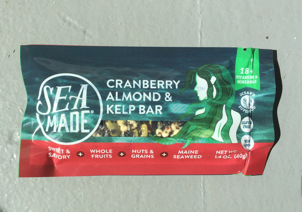 Cranberry Almond & Kelp Bar - SeaMade