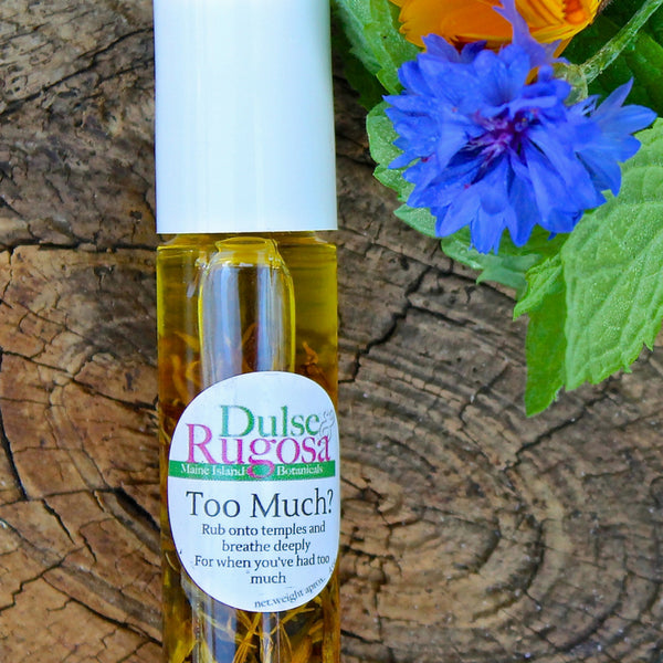 "Dulse & Rugosa ""Too Much?"" Essential Oil Roll On"