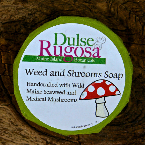 Weed & Shrooms Soap (3oz) Dulse & Rugosa